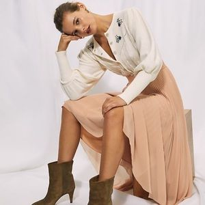 Aritzia Wilfred Blush Skirt